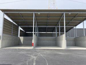 株式会社エコマック ストックヤード新築工事 2021年4月竣工
